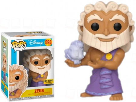 Funko Pop Zeus Exclusivo Hottopic-Disney-593