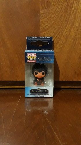 Funko Pop Chaveiro Keychain The Crimes Of Grindwald- Baby Niffler-The Crimes Of Grindelwald-
