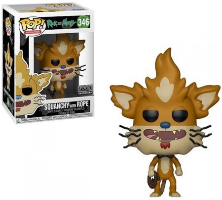 Funko Pop Squanchy Fye-Rick and Morty-346
