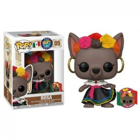 Funko Rosa (méxico)-Pop Around The World-264