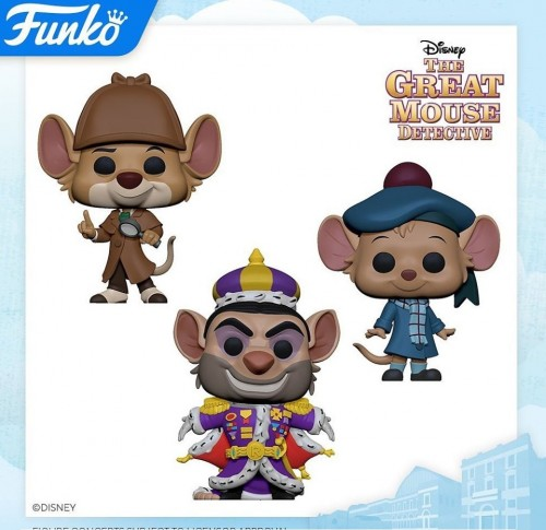Funko Set The Great Mouse Detective-Funko-1