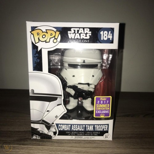 Funko Star Wars: Combat Assault Tank Trooper - Stars Wars - #184
