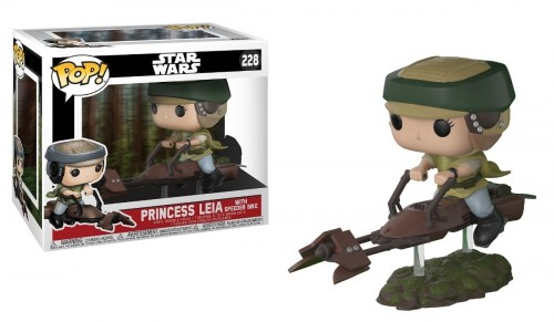 Funko Star Wars: Leia With Speeder Bike - Stars Wars - #228
