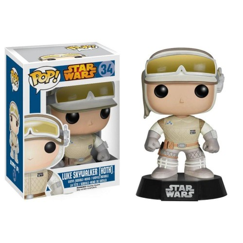 Funko Star Wars: Luke Skywalker Hoth - Stars Wars - #34