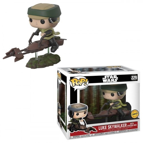 Funko Star Wars: Luke With Speeder Bike (chase)-Stars Wars-229