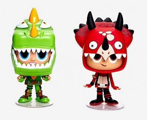 Funko Vynl Fortnite - Rex + Tricera Ops-Fortnite-1