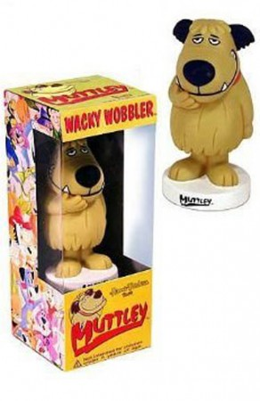 Action Figures Funko Wacky Wobbler Muttley Corrida Maluca-Hanna Barbera-