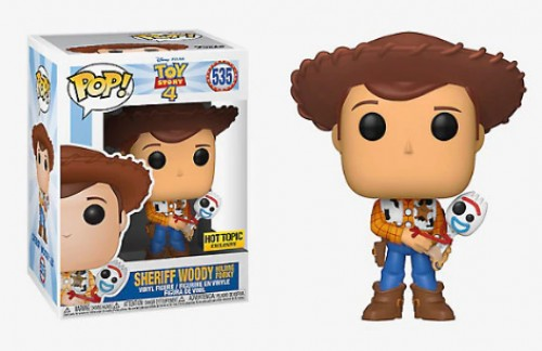 Funko Woody Hottopic-Toy Story-535