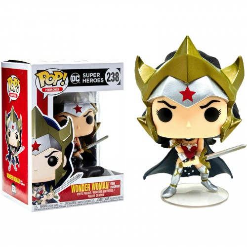 Funko Pop - Dc Super Heroes: Wonder Woman (exc Hot Topic)-DC Super Heroes-238