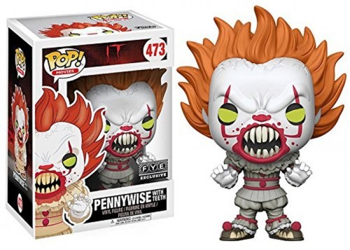 Funko Pop - It: Pennywise With Teeth - Fye - It - A coisa - #473
