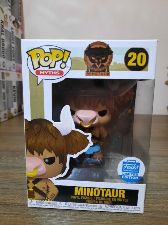 Funko Pop Minotaur Exclusivo-Myths-20