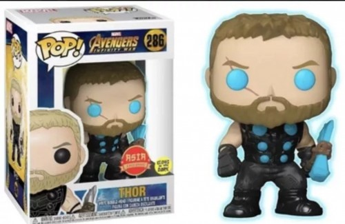 Funko Pop Thor Asia Glow In The Dark-Marvel Avengers-286
