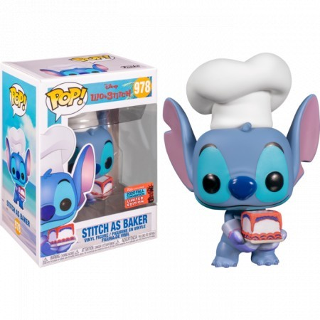 Funko Pop Stitch As Baker (nycc)-Lilo & Stitch-978