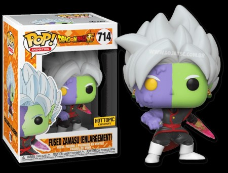Funko Pop Fused Zamasu (enlargement) - Exclusivo Hot Topic-Dragon Ball Super-714