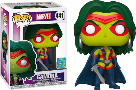 Gamora Summer Convention Funko Pop!-Guardiões da Galáxia-441