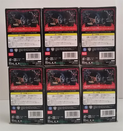 Action Figures Gashapon Dc Batman Season 1 Kotobukiya Com 6 Figuras Batman, Robin, The Joker, Harley Quinn, Catwoman, Batmobile - DC Batman - #