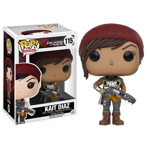 Gears Of War Armored Kait Diaz Funko Pop! - Gears of War - #115