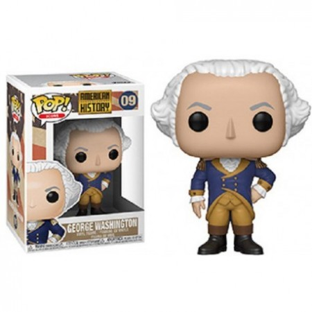 Funko Pop! Icons: George Washington-American History-9