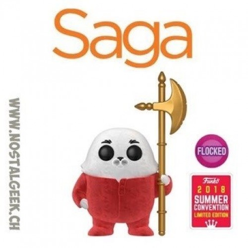 Funko Pop Ghüs In Pajamas Saga Flocked Exclusive Com Protetor-Saga-16
