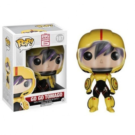 Funko Pop Go Go Tomago-Big Hero 6-107