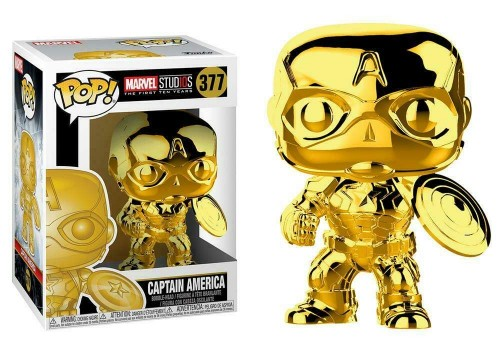 Funko Gold Captain America-Marvel Studios-377