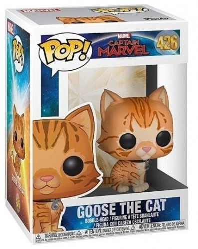 Funko Pop Goose The Cat Gato-captain marvel-426