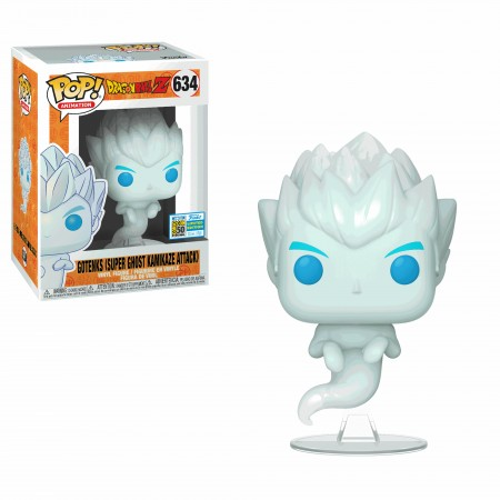 Funko Pop Gotenks Super Ghost Kamikaze Attack - Sdcc Exclusive-Dragon Ball  Z-634