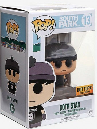Goth Stan - South Park - Funko Pop! Exclusivo Hot Topic - South Park - #13