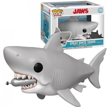 Funko Pop Great White Shark With Tank-Jaws-759