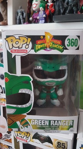 Funko Green Ranger-Power Rangers-360