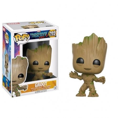 Funko Pop Groot-Guardiões da Galáxia Vol 2-202