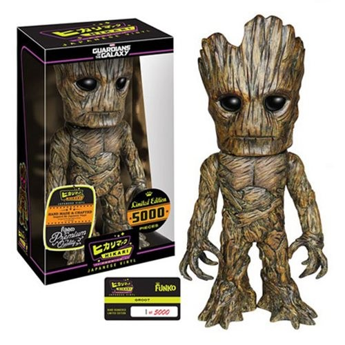 Action Figures Guardians Of The Galaxy - Groot - Hikari Premium-Guardiões da Galáxia-