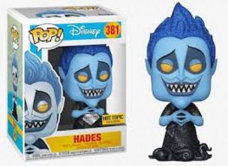 Funko Pop Hades - Diamond - Exclusivo Hot Topic-Disney-381