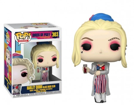 Funko Pop Harley Quinn Black Mask Club-Birds of Prey-303