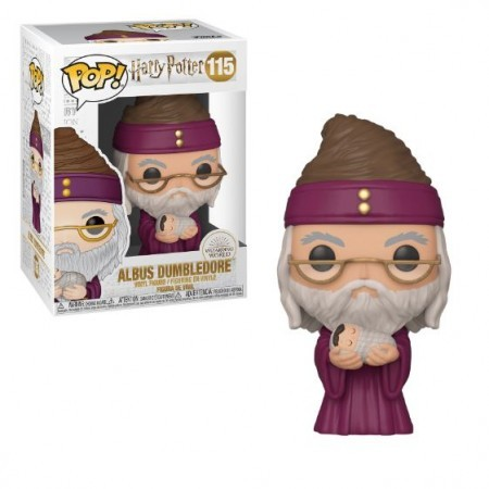 Funko Pop Albus Dumbledore W/baby-Harry Potter-115