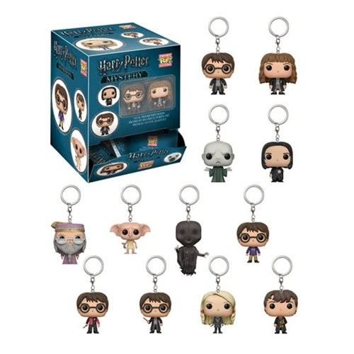 Harry Potter Mystery Pop Keychain Blindbag (chaveiro Surpresa Harry Potter)-Harry Potter-