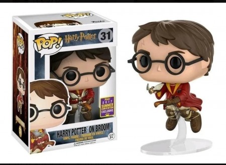 Funko Pop Harry Potter On Broom Summer Convention 2017-Harry Potter-31
