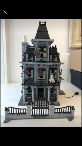 Lego Haunted Mansion Lepin-The Haunted Mansion-1