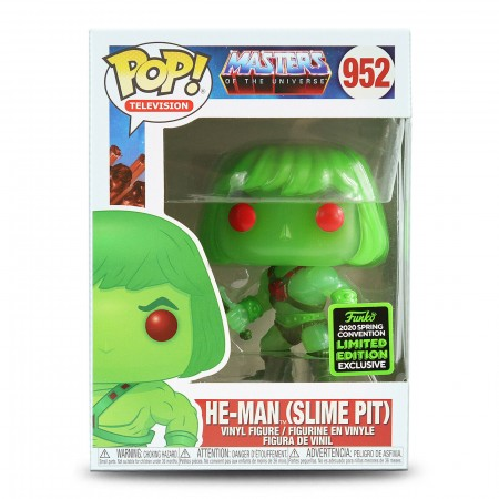 He-man Slime Pit Masters Universe Funko Pop! Eccc 2020-Masters of the Universe-952