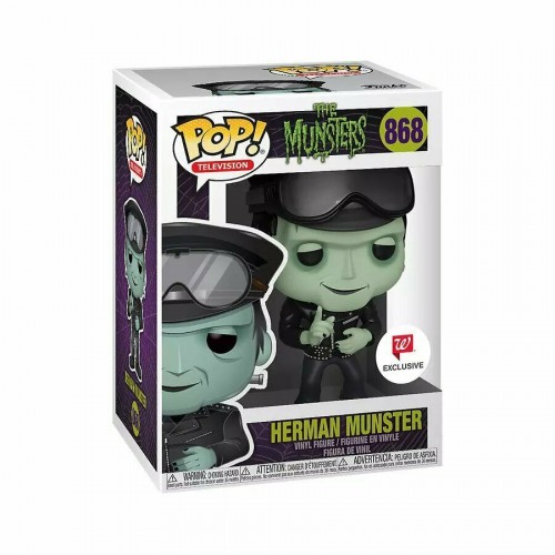 Herman Munster - The Munsters - Funko Pop! Exclusivo Walgreens-The Munsters-868