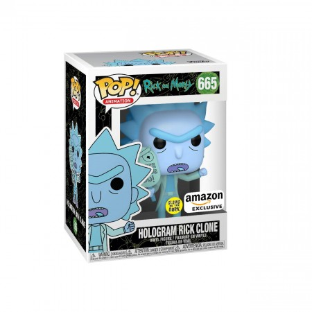 Hologram Rick Clone Gitd - Rick And Morty - Funko Pop!-Rick and Morty-665