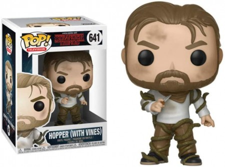 Funko Pop Hopper (with Vines)-Stranger Things-641
