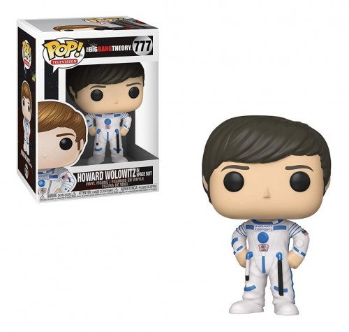 Funko Pop Howard Wolowitz-The Big Bang Theory-777