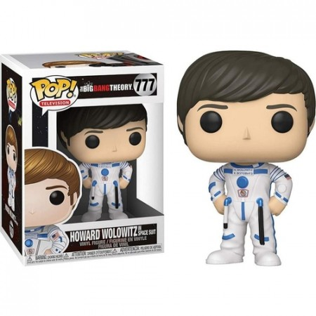 Funko Pop Howard Wolowitz In Space Suit-The Big Bang Theory-777