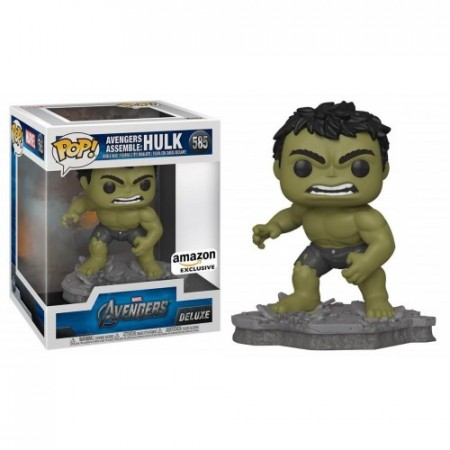 Funko Pop Hulk (amazon) (caixa E Blisters Amassados)-Avengers Assemble Series-585