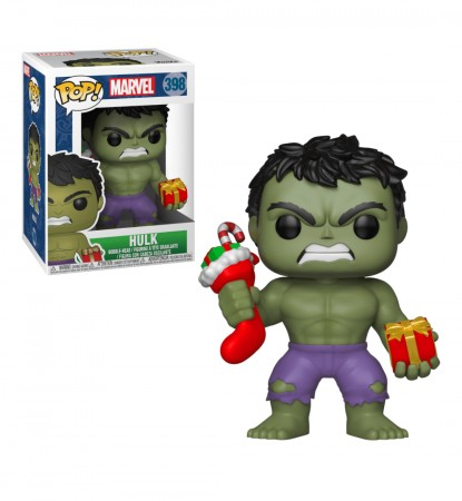 Funko Pop Hulk (holiday)-Marvel Studios-398