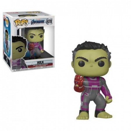 Funko Pop Hulk Com Manopla Do Infinito-Marvel Studios-478