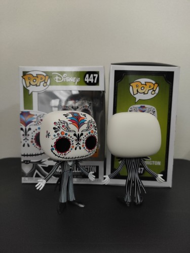 Funko Pop Jack Skellington Hot Topic Exclusive-Disney-447