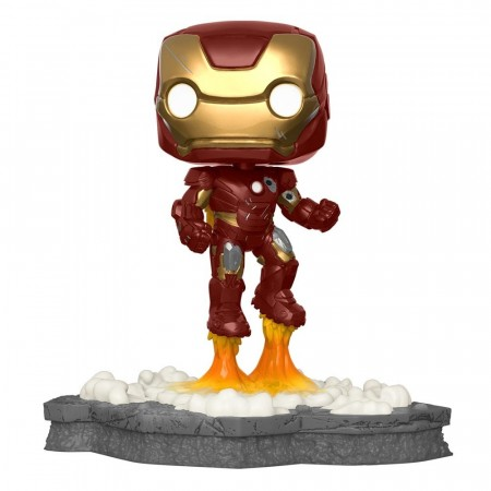Funko Pop Iron Man 584 (movie Moments Deluxe) - Marvel Studios - #584