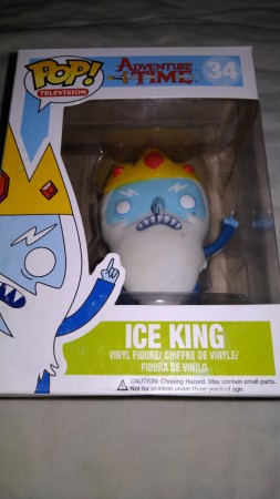 Funko Pop Ice King  Raro-adventure time-34